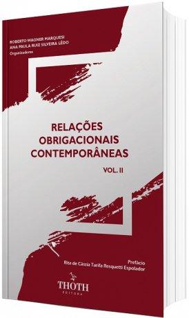 Relações Obrigacionais Contemporâneas - volume II