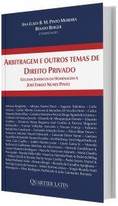 Imagem - Arbitragem e outros temas de Direito Privado: Estudos Jurídicos em Homenagem a José Emilio Nunes Pinto