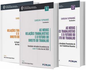 Imagem - As Novas Relações Trabalhistas e o Futuro do Direito do Trabalho 3 V.