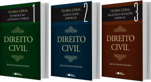 Imagem - Coleção Direito Civil - 3 volumes