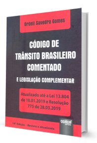 Imagem - Código de Trânsito Brasileiro Complementar e Legislação Complementar