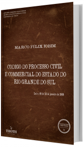 Imagem - Código do Processo Civil e Commercial do Estado do Rio Grande do Sul