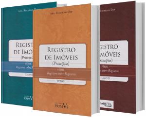 Imagem - Coleção - Registro de Imóveis 3 v.