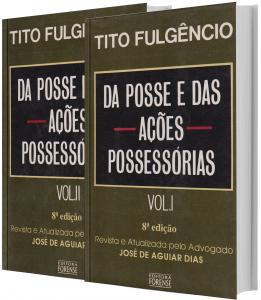 Imagem - Da Posse e das Ações Possessórias 2v.