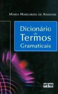 Imagem - Dicionário de Termos Gramaticais