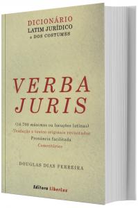 Imagem - Dicionário Latim Jurídico e dos Costumes - Verba Juris