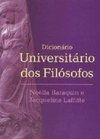 Imagem - Dicionario Universitario dos Filosofos