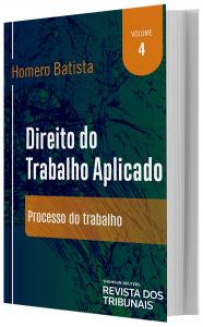 Imagem - Direito do Trabalho Aplicado - volume 4