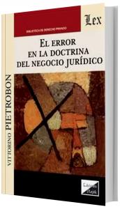 Imagem - Error en la Doctrina del Negocio Jurídico
