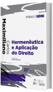 Imagem - Hermenêutica e Aplicação do Direito
