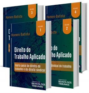 Imagem - Direito do Trabalho Aplicado - 4 volumes