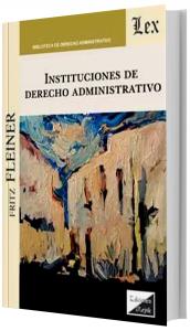 Imagem - Instituciones De Derecho Administrativo
