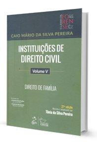 Imagem - Instituições de Direito Civil - Direito de Família - volume 5