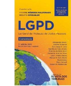Imagem - LGPD - Lei Geral de Proteção de Dados Pessoais Comentada