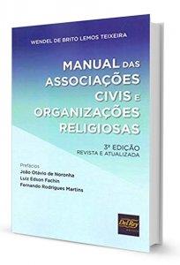 Imagem - MANUAL DAS ASSOCIAÇÕES CIVIS E ORGANIZAÇÕES RELIGIOSAS