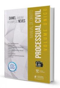 Imagem - Manual de Direito Processual Civil - Volume Único