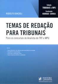 Imagem - Temas de Redação para Tribunais