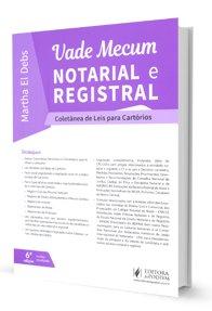 Imagem - Vade Mecum Notarial e Registral - Coletânea de Leis para Cartórios
