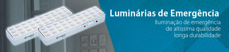Luminária Emergência LED