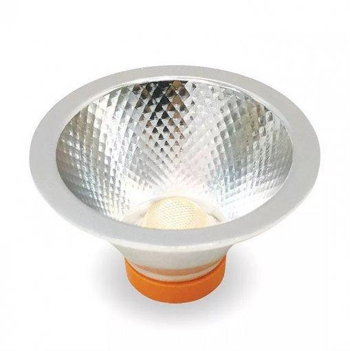 Lâmpada LED COB AR70 7W 500lm 3000K Bivolt Initial