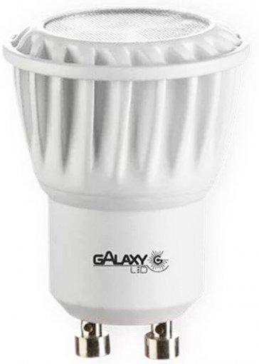 Lâmpada LED Mini Dicroica 4W GU10 MR11 Galaxy LED