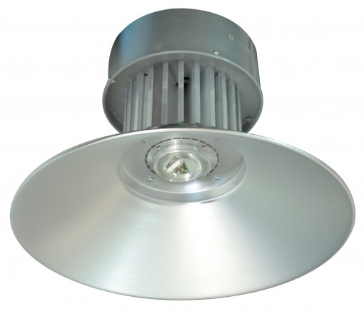 Luminária Prismática LED Pendente Galpão 50W Branco Frio Industrial Refletor