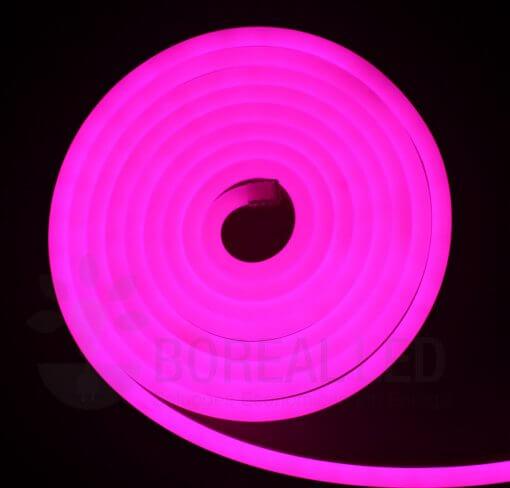 Mangueira LED Neon Flex Luz Rosa Pink 3m IP65 110V Uniled