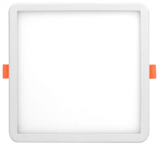 Plafon LED Embutir 24W Presilha Ajustável Nicho Quadrado