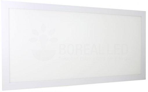 Painel Plafon LED Embutir 36W Retangular 32x62cm Branco Frio