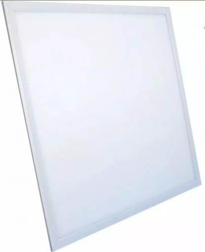 Painel Plafon LED Embutir Quadrado 62x62cm 48W Branco Quente