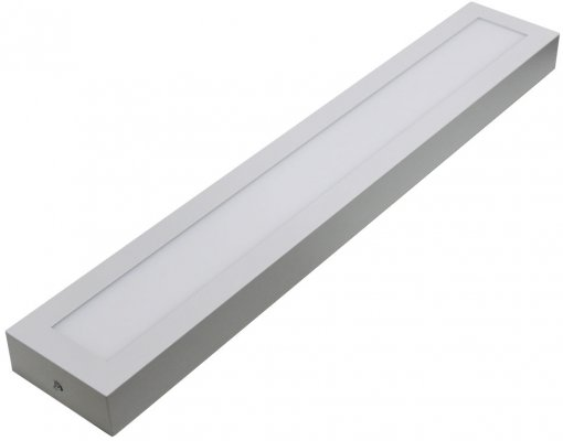 Plafon LED Sobrepor Retangular 18W 60x10cm Bivolt Power XL