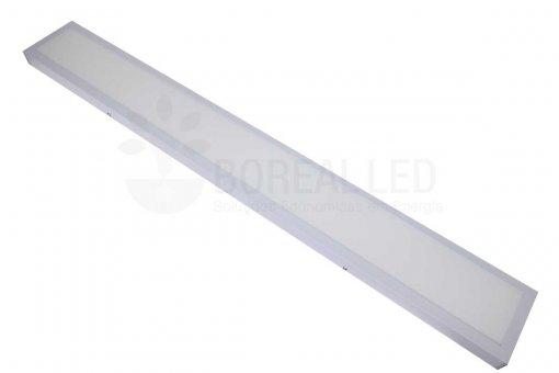 Painel Plafon LED Sobrepor 36W Retangular 15x120cm Branco Frio