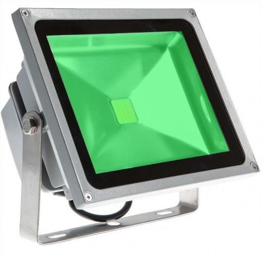Refletor Holofote LED 50W Verde Bivolt IP66 KLTG-50WBLV Jikatec