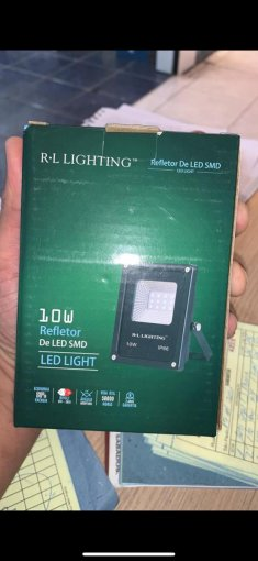 Refletor Holofote LED RGB 10W IP66 com Controle Remoto