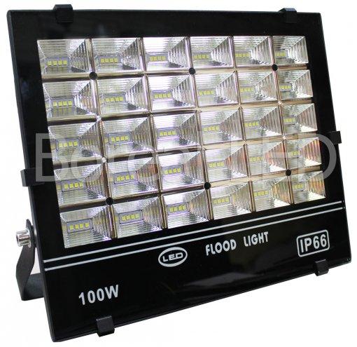 Refletor Holofote LED SMD 100W IP66 Branco Frio Bivolt AXU