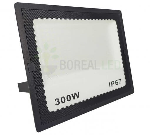 Refletor LED 300W Holofote Bivolt Branco Frio IP65 Externo