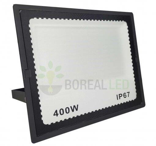 Refletor LED 400W Holofote Bivolt Branco Frio IP65 Externo