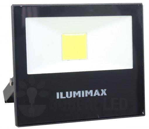 Refletor LED COB Slim 20W IP65 Preto Bivolt Ilumimax