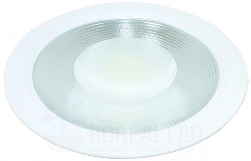 Spot COB Downlight 50W Redondo Luz Branco Frio 6000K Initial