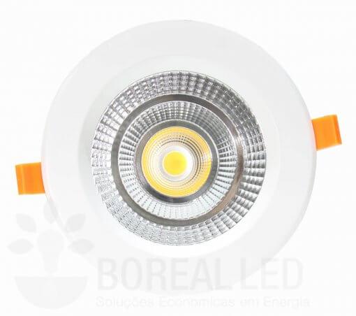 Spot LED COB Downlight 25W Embutir Redondo Goodlighting