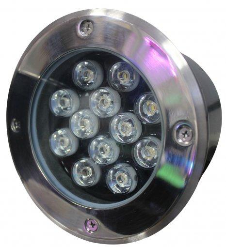 Spot LED Embutir Solo 12w Bivolt Quente 3000k IP 65 A.XU