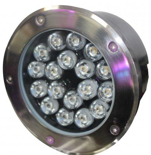Spot LED COB Embutir Solo 18w Bivolt Quente 3000k IP 65 A.XU