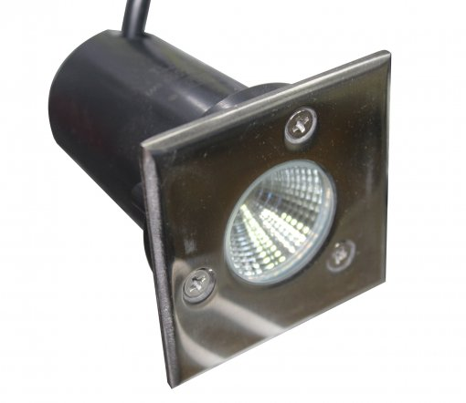 Spot LED Embutir Solo 3w Bivolt Branco 6000k IP 65 A.XU
