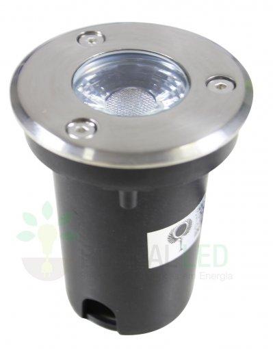 Spot LED Embutir Solo 3w Bivolt IP67 Initial