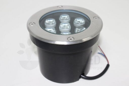Spot LED Embutir Solo Piso 7w 560lm IP68 Bivolt ESTAR