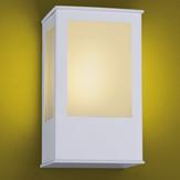 Imagem - Arandela Aluminio Quadrada P/ 1 Lâmpada E27 Ideal Iluminação 286 cód: 286