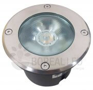 Imagem - Balizador Embutir Solo Chão 12W LED IP67 Biv 3000K Branco Quente cód: PISO-12A-BQ