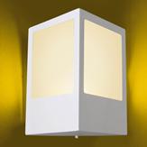 Imagem - Arandela Aluminio Quadrada P/ 1 Lâmpada E27 Ideal Iluminação 284 cód: 284