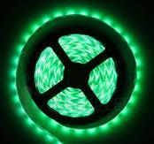 Imagem - Fita LED 3528 Verde 300 Leds 5 Metros 12V IP65 Dupla Face cód: BFL-3528-VERDE