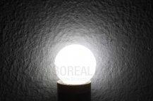Imagem - Lâmpada LED Bolinha 1W Branco Frio E27 127V cód: BLBP-1W-127VBF